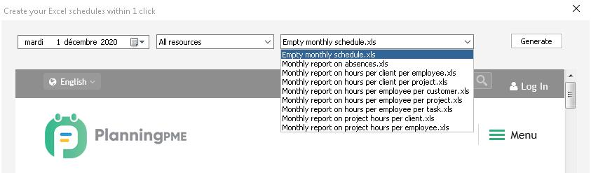 Create A Planning Template In Excel With Planningpme
